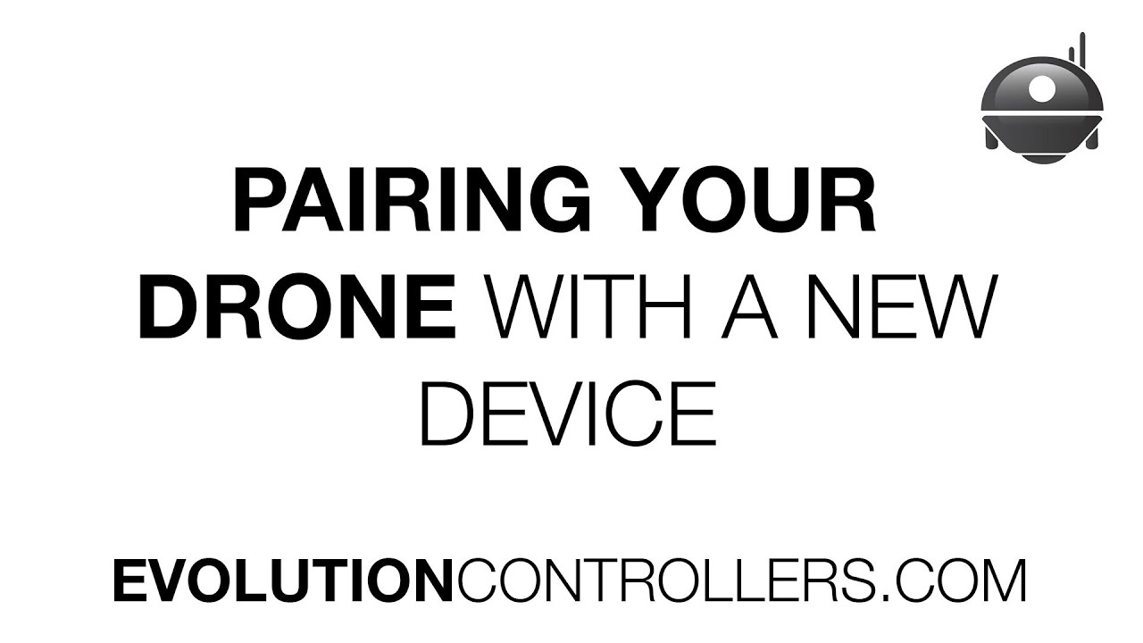 Pairing Your Drone To A New Device