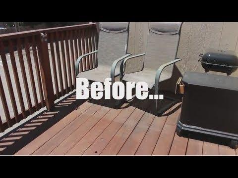 Balcony Makeover!