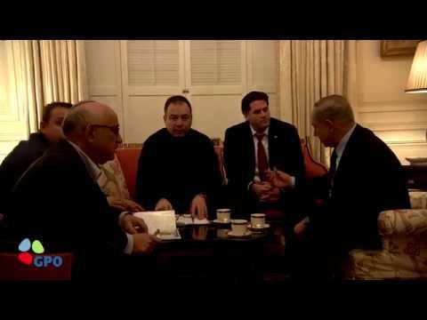PM Netanyahu at the Blair House