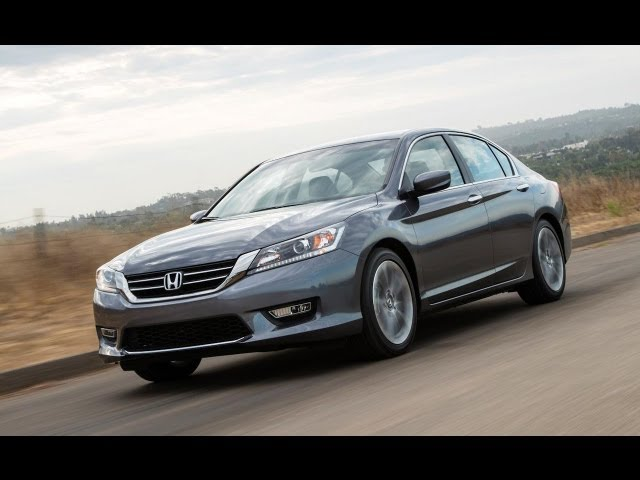2013 Honda Accord Sport 6 Speed MT 0 60 MPH Performance Test   The Fast  Lane Car