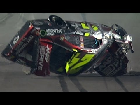 Jeff Gordon goes for a scary ride