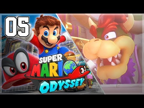 Super Mario Odyssey - 100% Gameplay Walkthrough Part 5