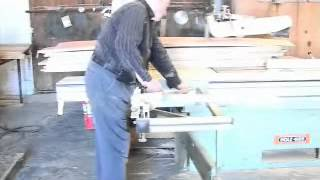 Holz-her Sliding Bed Panel  Table Saw With Extension And Guides
