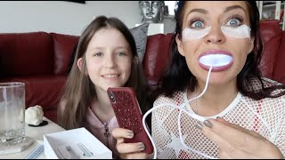 Unboxing of Styletone, Pathcy Patchy and One smile - the whitening system | Alina made snow in June