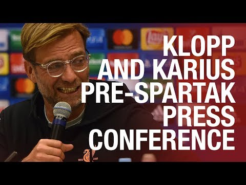 Jürgen Klopp and Loris Karius | LFC's pre-Spartak Moscow press conference