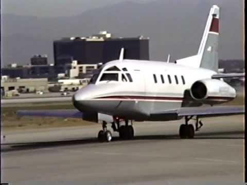 Rare Sabreliner 75A Departing LAX