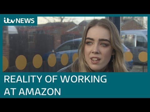 Zero-hour contracts and wrong wages - the reality of being an Amazon agency worker | ITV News
