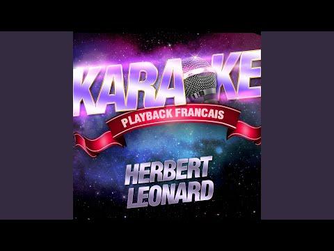 Laissez-Nous Rêver — Karaoké Playback Avec Choeurs — Rendu Célèbre Par Herbert Léonard