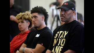 Lavar reacts to son getting Arrested