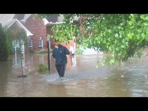Nashville, Bellevue Flood - Day after Part 1.wmv