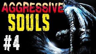 AGGRESSIVE SOULS | Part 4 | Stirb endlich!! | Dark Souls Mod