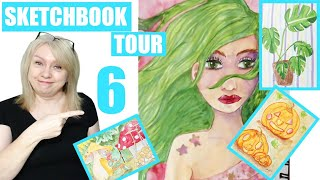 Look through my sketchbook with me - Ideas to fill your sketchbook