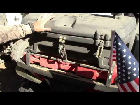 DIY ATV Rack & DIY ATV Rack - YouTube