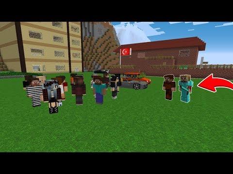 ZENGİN VE FAKİR'in ŞEHRİNE BİRSÜRÜ KİŞİ TAŞINDI! 😱 - Minecraft