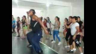RAMDAK PRO DANCER  en el Master Class de VANESA RODRIGUEZ -  Gym. MISTER FITNESS
