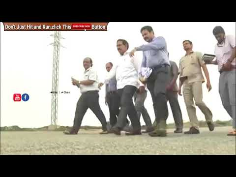 Minister Narayana Inspecting The Developments Of Roads In Amaravati || THANKYOUCMSIR