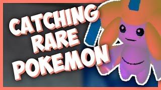 Roblox Pokemon Brick Bronze - Catching Rare Pokemon!