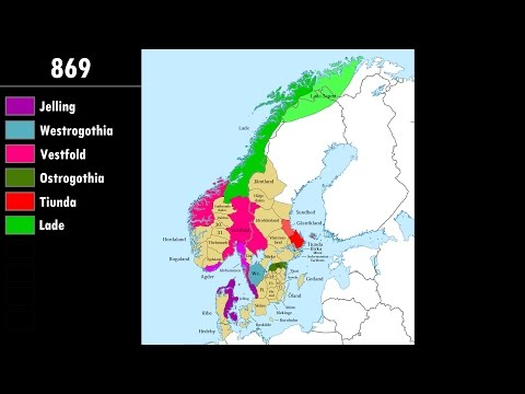 The Viking Age of Scandinavia: Every Year
