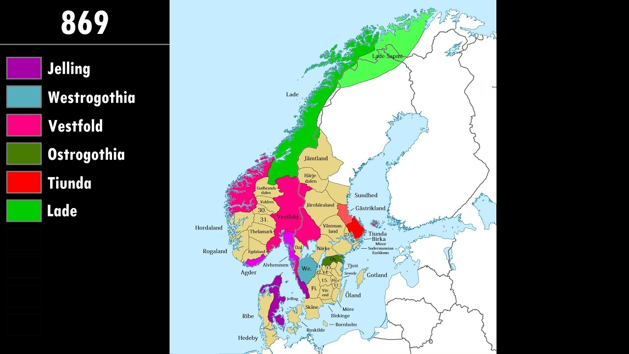 The Viking Age Of Scandinavia Every Year Youtube
