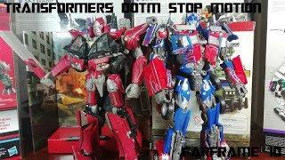 Stop Motion: Optimus Prime vs Sentinel Prime (Transformers DOTM)