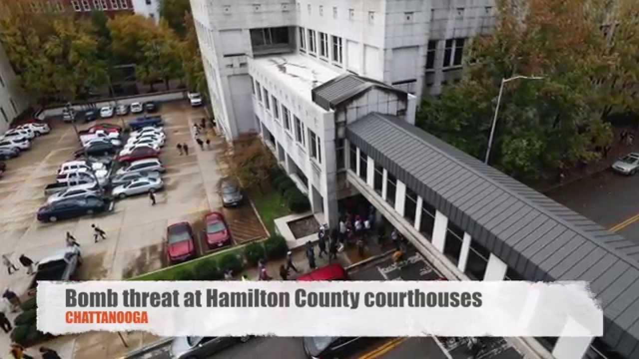 Hamilton County courthouses evacuated over bomb threat