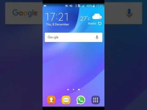 Setting 4G Network Galaxy J1 Ace