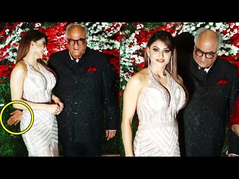 Sridevi's Husband Boney Kapoor's SHOCKING ACT with Urvashi Rautela at Jayantilal Gada's Son Wedding