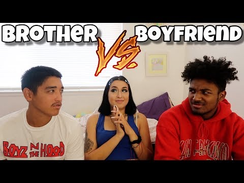 WHO KNOWS ME BETTER?... Brother vs Boyfriend 2019 | *the truth*