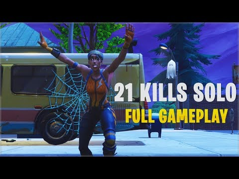 21 Kills Solo | Console - Fortnite Gameplay