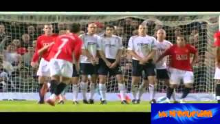 Cristiano Ronaldo - Top 10 free kick | Real Madrid vs. Man.United