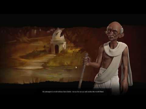 CIV 6 [Gandhi] Declaration of war!
