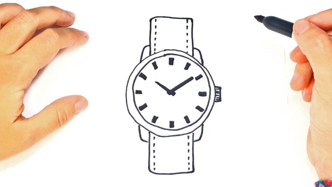 C 243 Mo Dibujar Un Reloj De Mu 241 Eca Paso A Paso Y F 225 Cil Youtube