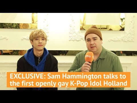 EXCLUSIVE: Sam Hammington talks to the first openly gay K-pop Idol Holland