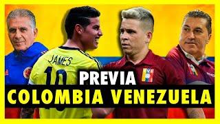 ANÁLISIS PREVIO COLOMBIA VS VENEZUELA - ELIMINATORIAS SUDAMERICA 2020