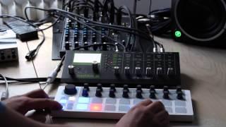 Arturia Beatstep + Waldorf Pulse 2 + Korg Volca Beats