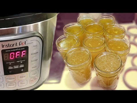 How many hours to make chicken bone broth in pressure cooker