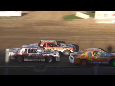 IMCA Stock Car Heats Independence Motor Speedway 4/22/17