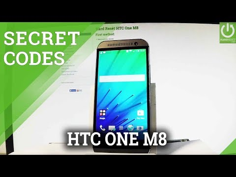 HTC One M8 CODES / Advanced Settings / Tricks / Secret Menu