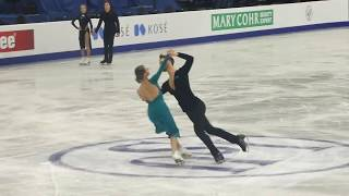 G.Papadakis/ G.Cizeron, European Championships Figureskating 2019, Practice  Rhythm Dance