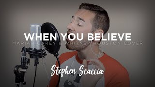 When You Believe - Mariah Carey & Whitney Houston (cover by Stephen Scaccia)