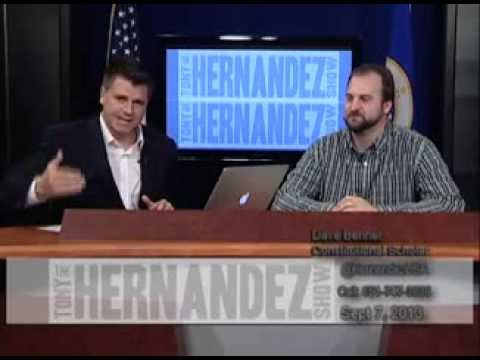 Tony Hernandez Show - Syria and the Constitution