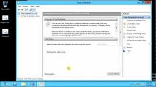 Windows Task Scheduler Overview on Windows Server 2012