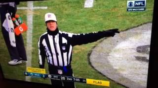 Bud Dupree BIG Hit On Matt Moore