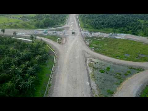 Interchange 14 Meru Kapar  | West Coast Expressway WCE  | Drone footage