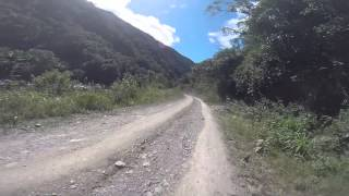 Chacaltaya-Zongo downhill biking HD