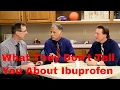 What They Don't Tell You About IBUPROFEN- Affects Healing?