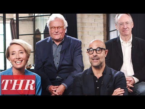 "'The Children Act' Stanley Tucci Had a ""Huge Crush"" on Co-Star Emma Thompson 