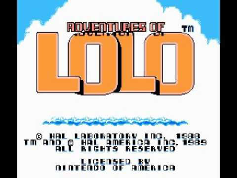 Adventures of Lolo (NES) Music - Game Theme