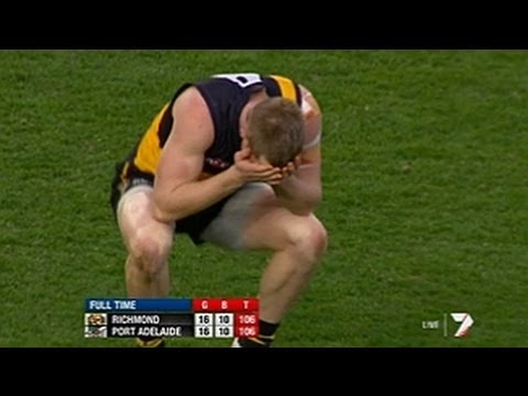 PTV: The final two minutes - Richmond v Port Adelaide Round 23 2012