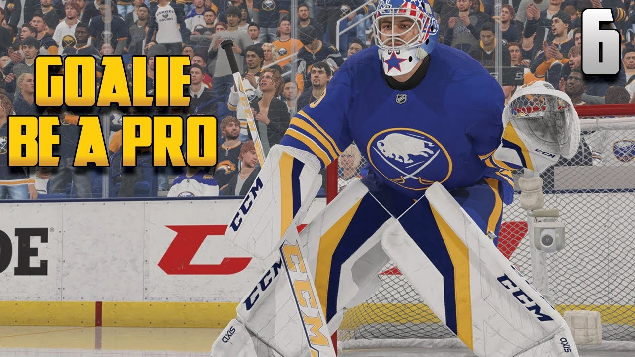 """Download NHL 22: Goalie Be  a Pro #6 - """"First REAL NHL Game!?"""""""
